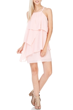 Shoptiques Product: Pink Strappy Back Dress