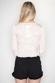 dress forum Polka Dot Blouse - Side cropped