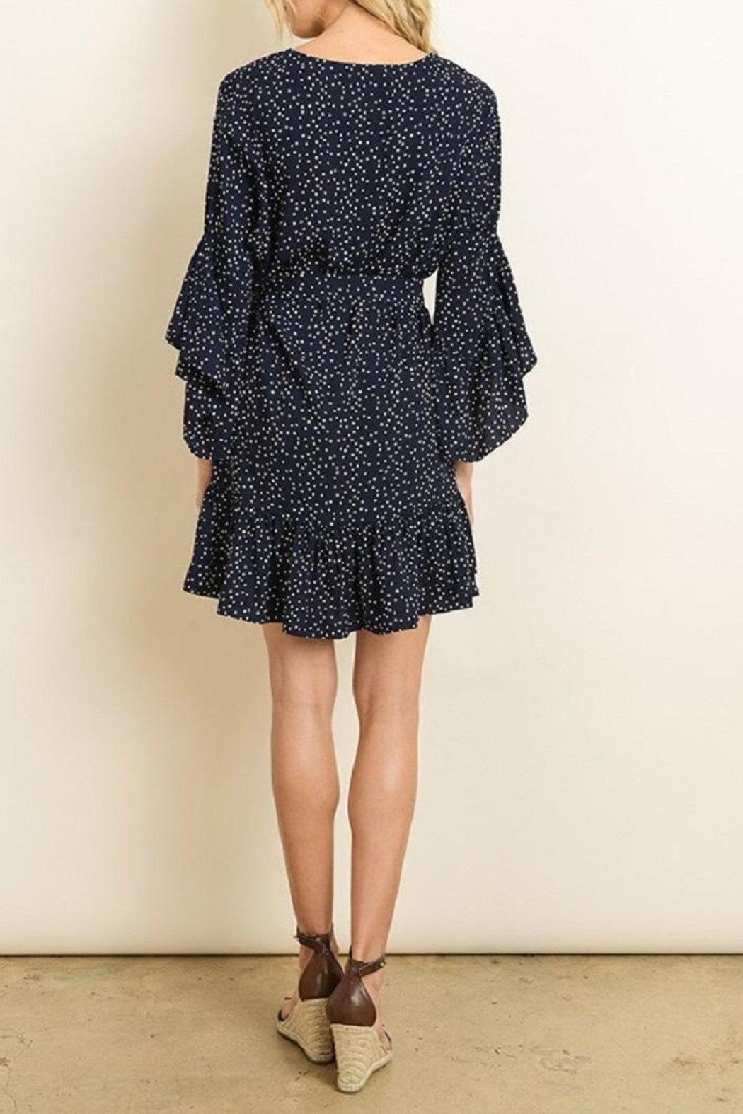 dress forum Polka Dot Dress - Side Cropped Image