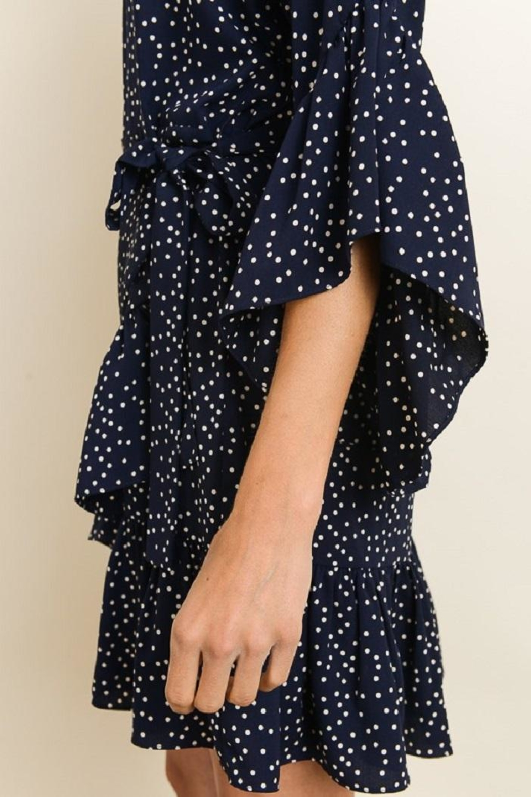 dress forum Polka Dot Dress - Back Cropped Image