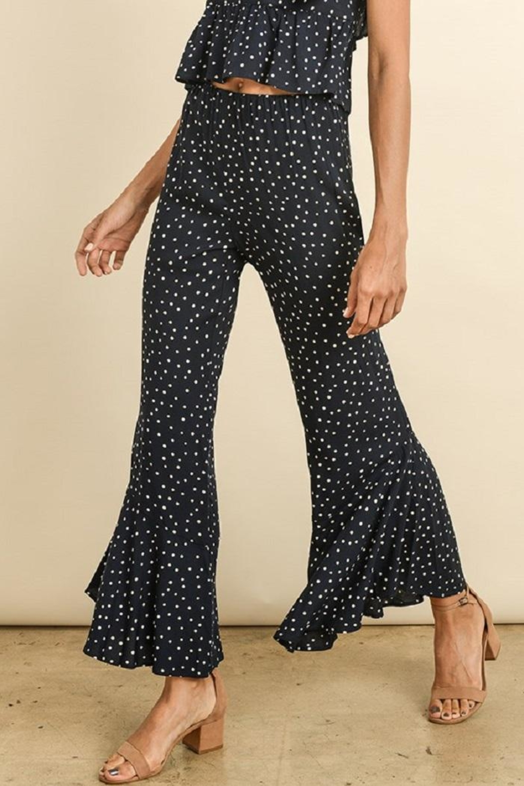 dress forum Polkadot Ruffle Pants - Main Image