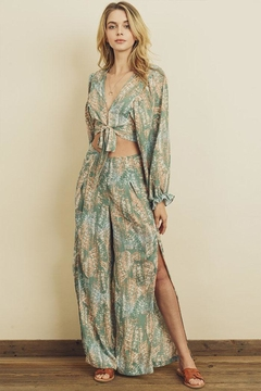 dress forum Printed Pant Set - Product List Image