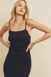 dress forum Ribbed Bodycon Dress - Front cropped
