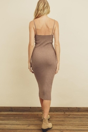 dress forum Ribbed Bodycon Dress - Side cropped