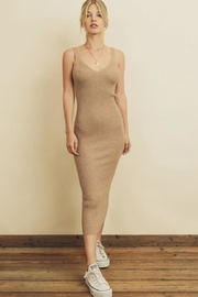 dress forum Ribbed Knit Dress - Product Mini Image