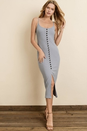 dress forum Ribbed Midi Dress - Product Mini Image