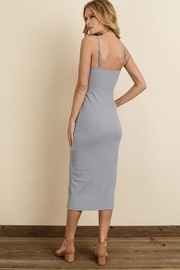 dress forum Ribbed Midi Dress - Back cropped