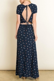dress forum Rosette Open Back - Back cropped