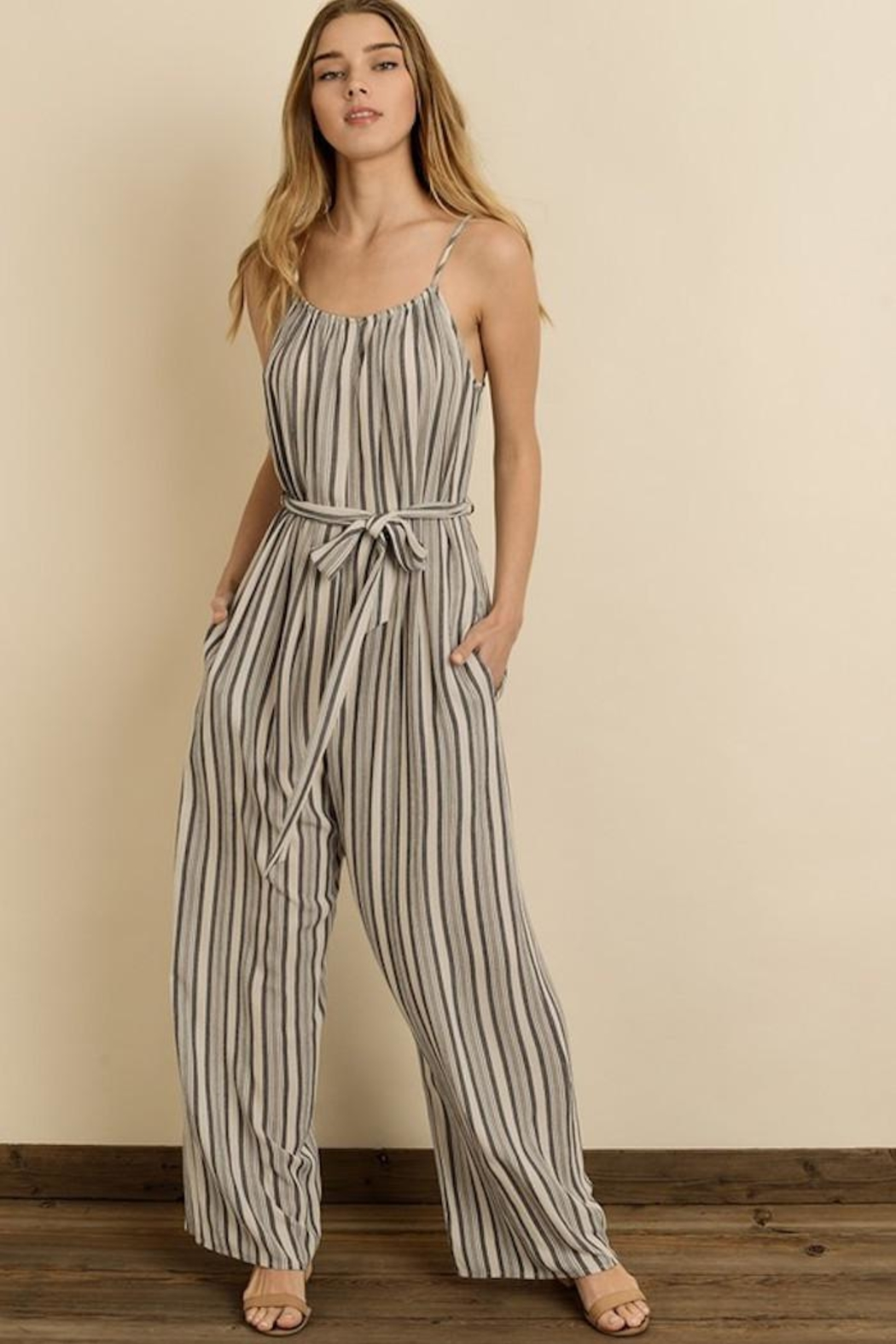 dress forum Sassy Stripes Jumpsuit - Main Image