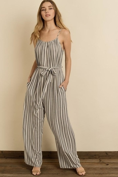 dress forum Sassy Stripes Jumpsuit - Product List Image