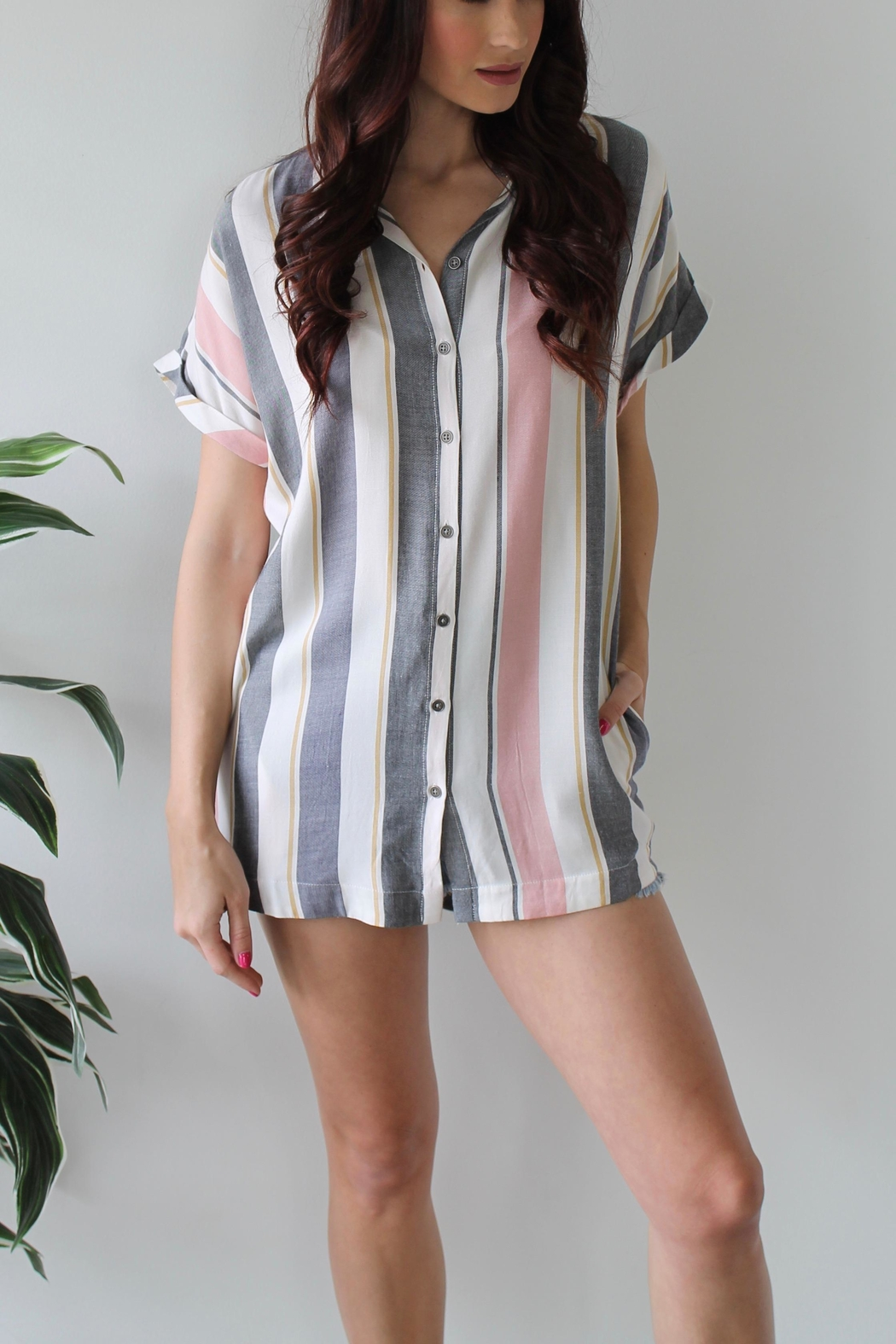 dress forum Sawyer Buttonup - Front Full Image