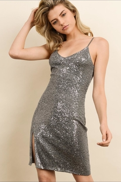 dress forum Sequin Bodycon Dress - Product List Image