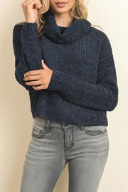 dress forum Soft Chenille Turtleneck Sweater - Product Mini Image