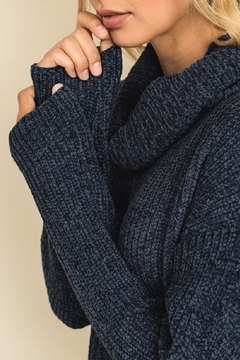 dress forum Soft Chenille Turtleneck Sweater - Alternate List Image