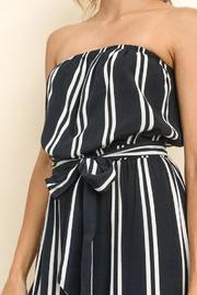dress forum Striped Culotte Jumpsuit - Side cropped