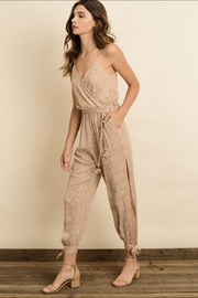 dress forum Striped Jumpsuit - Front full body