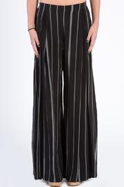dress forum Striped Open Leg Pants - Product Mini Image