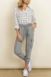 dress forum Tencel Cargo Jogger - Product Mini Image