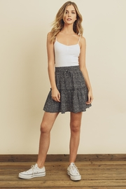 dress forum Tiered Mini Skirt - Front cropped