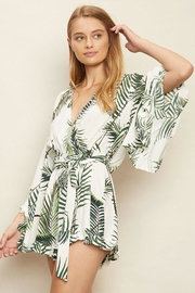 dress forum Tropical Surplice Romper - Product Mini Image