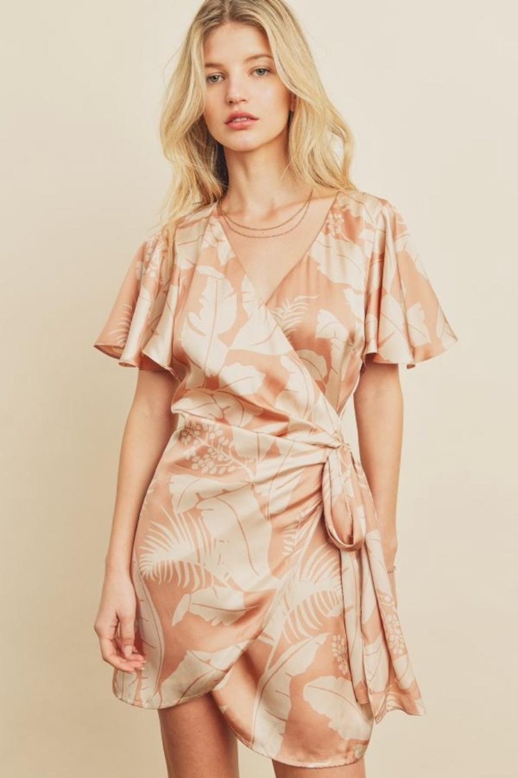 dress forum Tropical Wrap Dress - Main Image