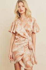 dress forum Tropical Wrap Dress - Product Mini Image