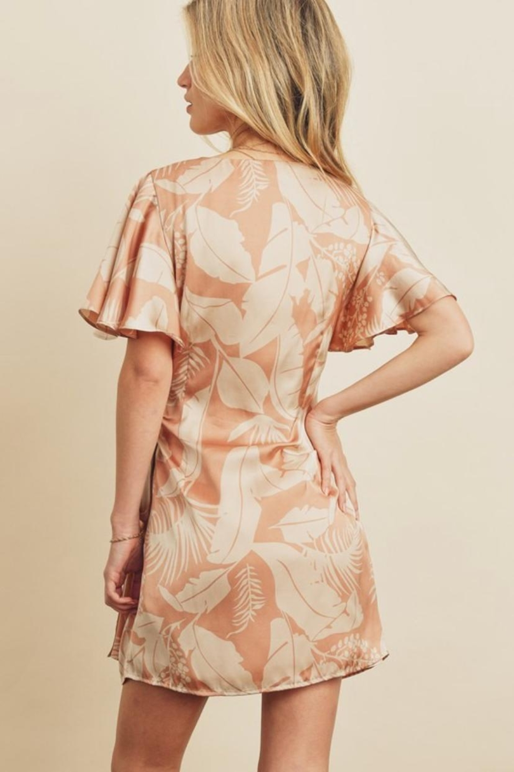 dress forum Tropical Wrap Dress - Front Full Image