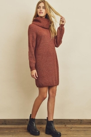 dress forum Turtleneck Sweater Dress - Product Mini Image
