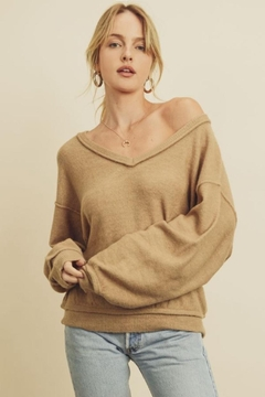 dress forum V-Neck Pullover Sweater - Product List Image