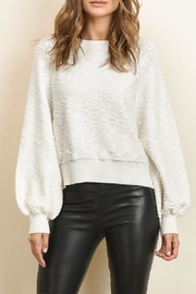 dress forum Wide Long Sleeve Sweater - Front cropped