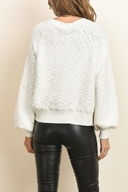 dress forum Wide Long Sleeve Sweater - Back cropped