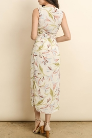dress forum Wrap Midi Dress - Front full body