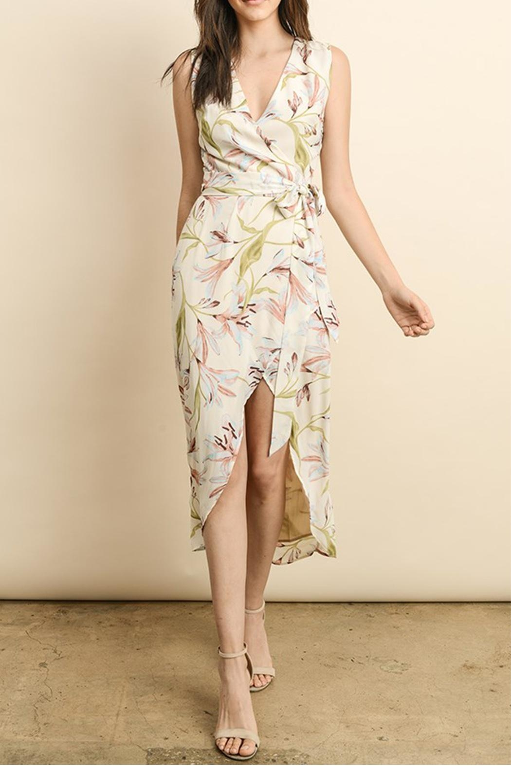 dress forum Wrap Midi Dress - Main Image