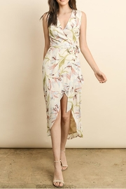 dress forum Wrap Midi Dress - Front cropped