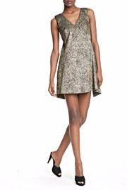 Dressed by Lori Metallic Shift Dress - Product Mini Image