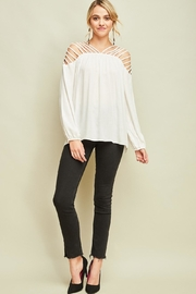 Entro Dressy Cutout Top - Other