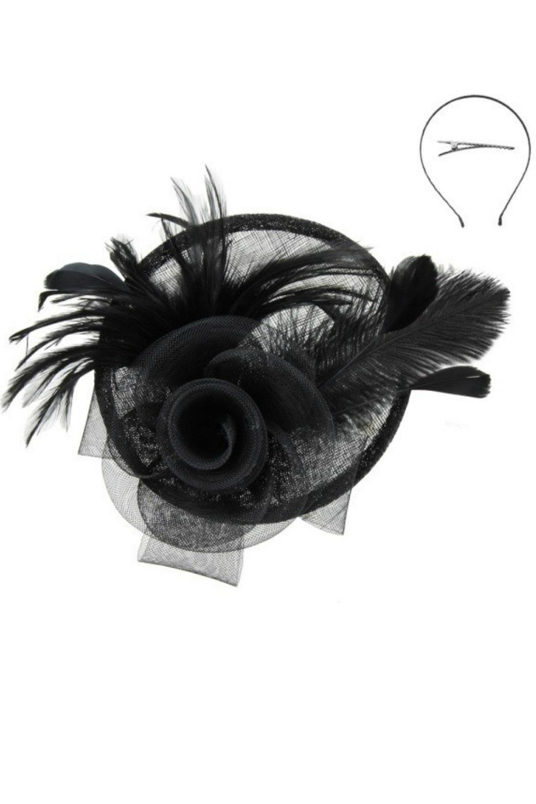 MHGS Dressy Fascinator - Front Cropped Image