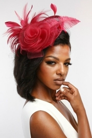 MHGS Dressy Fascinator - Front cropped
