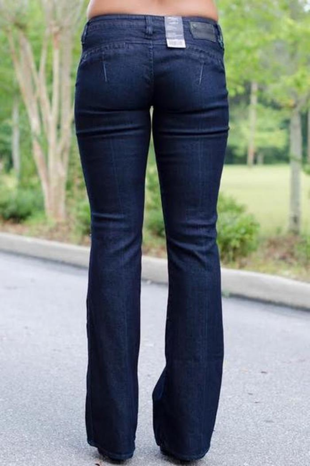 Silver Jeans Co. Dressy Flare Jeans - Front Full Image