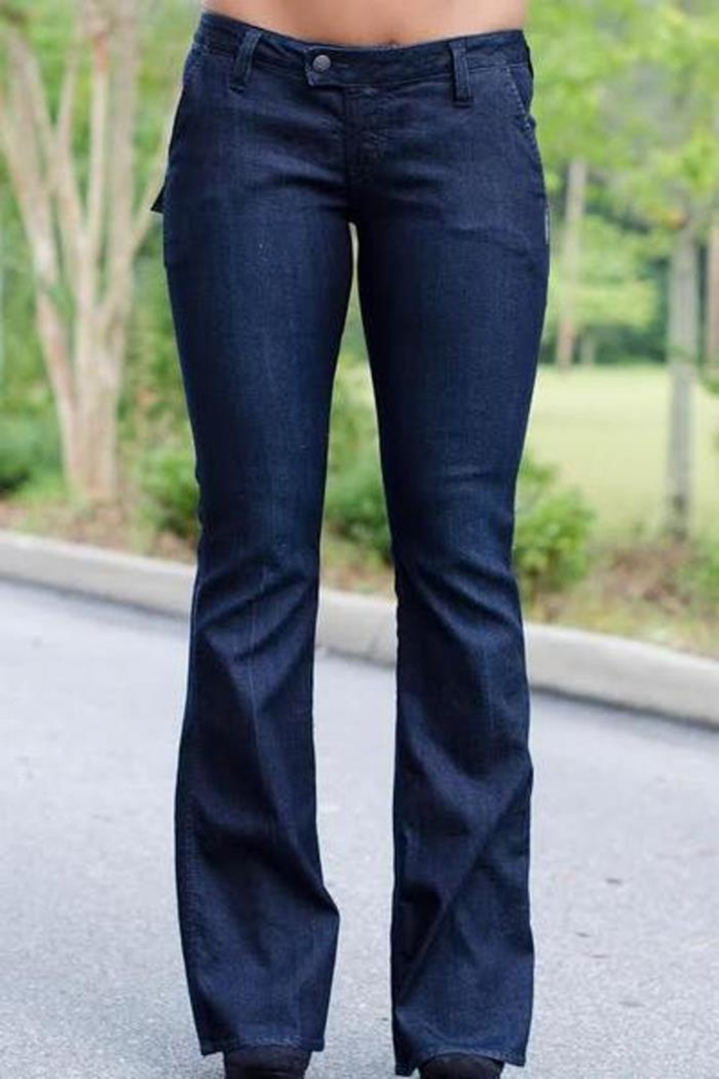 Silver Jeans Co. Dressy Flare Jeans - Main Image