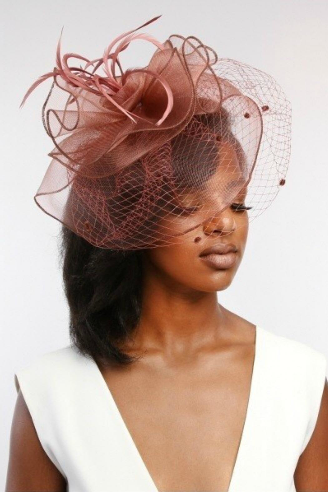 9571c2ff2f5e8 MHGS Dressy Netted Fascinator from Florida by Mad Hatter General ...