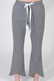Drew Cropped Flare Sweatpants - Product Mini Image