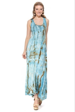 T-Party  Drew Tie-Dye Maxi Dress - Product List Image