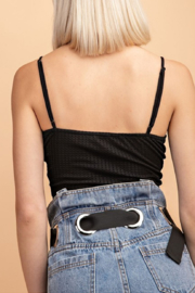 Le Lis Drew Twisted Crop Top - Side cropped