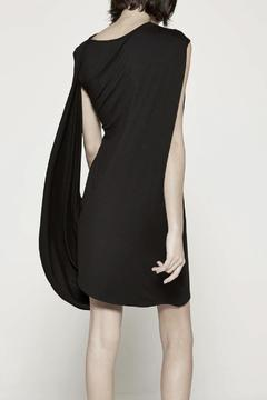 Drifter Black Drape Dress - Alternate List Image
