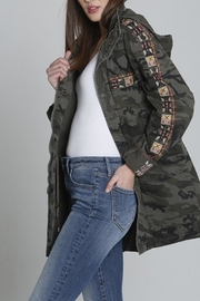 Driftwood Aztec Jacket - Front cropped