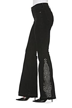Driftwood Embroidered Flare Jeans - Alternate List Image