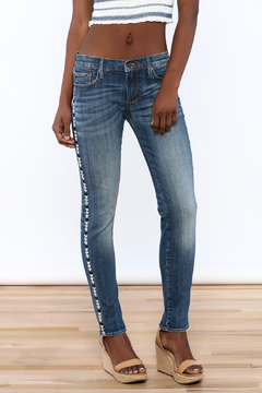 Driftwood Skinny Marilyn Embroidered Jean - Product List Image