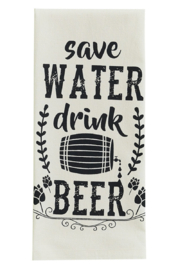 Park Designs Drink Beer Dish Towel - Product Mini Image