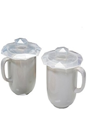 Charles Viancin Drink Cover Lids - Front cropped
